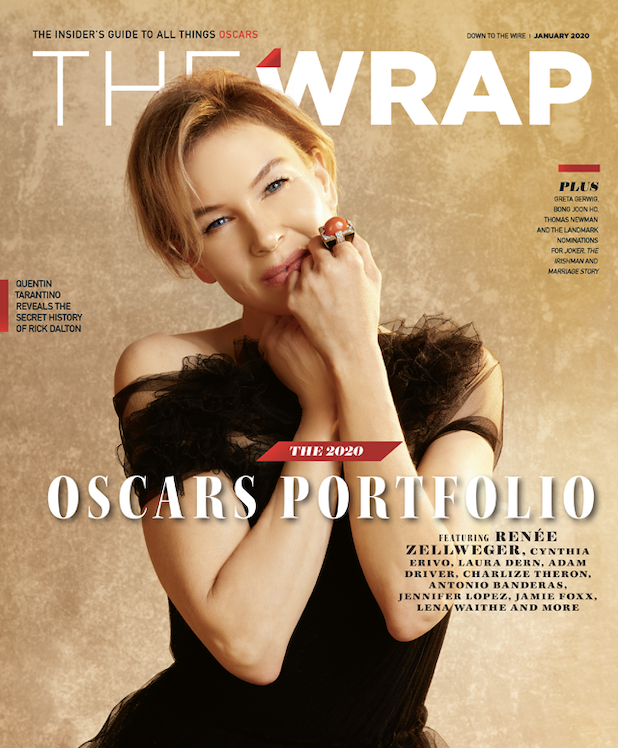 Oscar Wrap Renee Zellweger cover