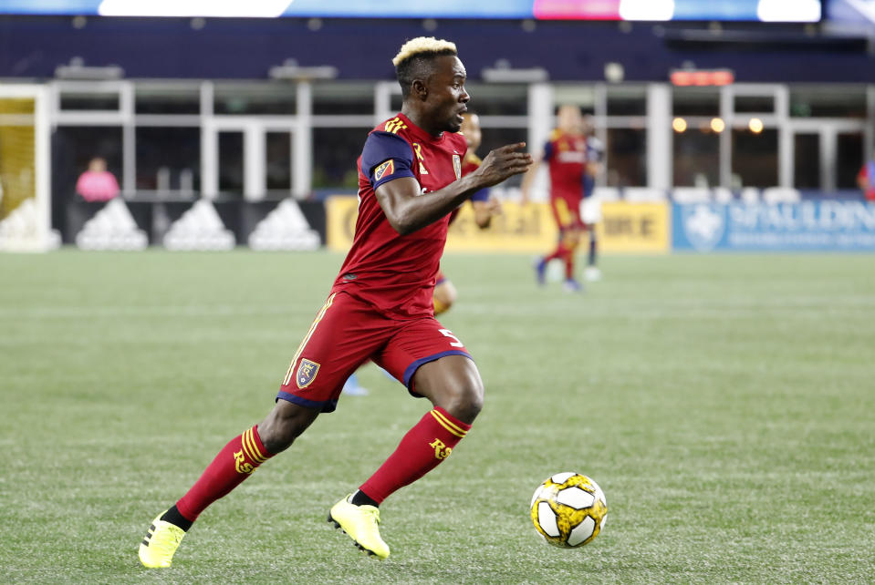 Real Salt Lake forward Sam Johnson