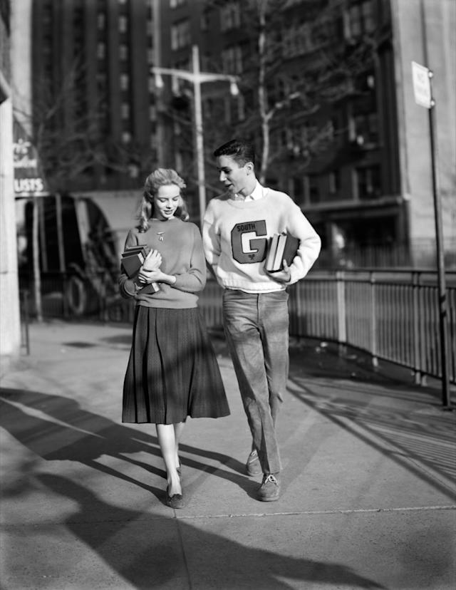 Dating in the 1940s who is the rock dating now
