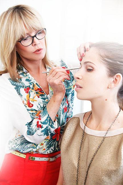"""<div class=""""caption-credit""""> Photo by: Photo: Kelly Stuart</div><div class=""""caption-title"""">Eyes Wide Open</div>Wondering how to accentuate your eyes in a natural-looking way? Lancôme's Sandy Linter, head makeup artist at New York's <b><a rel=""""nofollow noopener"""" href=""""http://www.ritahazansalon.com/"""" target=""""_blank"""" data-ylk=""""slk:Rita Hazan Salon"""" class=""""link rapid-noclick-resp"""">Rita Hazan Salon</a></b>, shows how a neutral smoky eye can work wonders. <br> <br> <b>MORE <br> <a rel=""""nofollow noopener"""" href=""""http://www.elle.com/beauty/makeup-skin-care/bright-nail-polish-colors?link=emb&dom=yah_life&src=syn&con=blog_elle&mag=elm"""" target=""""_blank"""" data-ylk=""""slk:The Top Manicure Color for Your Skin Tone"""" class=""""link rapid-noclick-resp"""">The Top Manicure Color for Your Skin Tone</a> <br> <a rel=""""nofollow noopener"""" href=""""http://www.elle.com/beauty/the-look-summer-hairstyles-657514?link=emb&dom=yah_life&src=syn&con=blog_elle&mag=elm"""" target=""""_blank"""" data-ylk=""""slk:Most Wanted Celebrity Hairstyles for Summer"""" class=""""link rapid-noclick-resp"""">Most Wanted Celebrity Hairstyles for Summer</a></b> <br>"""