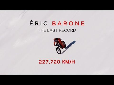 "<p>French daredevil Eric Barone beat the world record for mountain bike speed by zipping down a snow track in Vars, France, in March 2017. </p><p><a href=""https://www.youtube.com/watch?v=7gBqbNUtr3c"" rel=""nofollow noopener"" target=""_blank"" data-ylk=""slk:See the original post on Youtube"" class=""link rapid-noclick-resp"">See the original post on Youtube</a></p>"