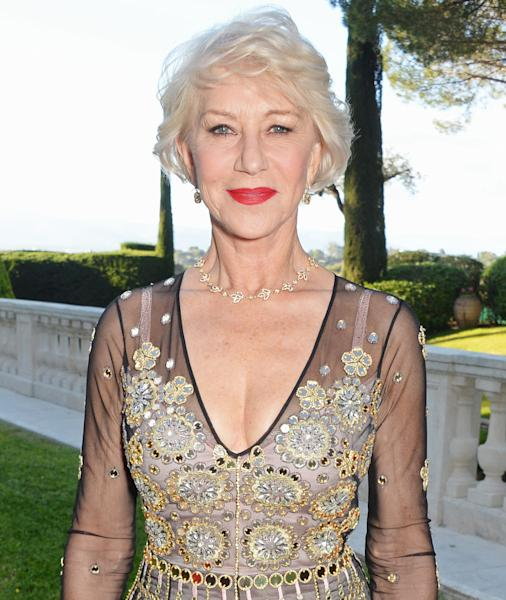 Helen Mirren opened up in a new interview about being labeled a sex symbol at 71 years old — see what she had to say