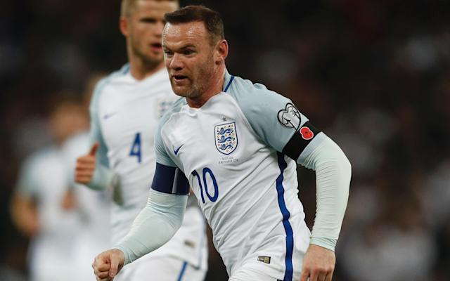 <span>Wayne Rooney has been cast aside by Gareth Southgate</span> <span>Credit: AFP </span>