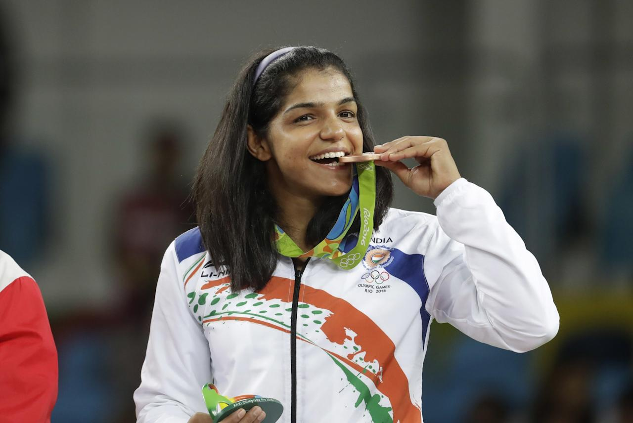 "<p>After winning India's only medal at Rio 2016, she said, ""To those who told me I am a girl and I could not wrestle, I want to say please show some trust in girls, they can do everything."" </p>"