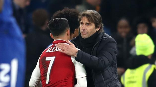 <p>Chelsea lacked finances to compete with City & United for Sanchez - Conte</p>