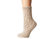 """<p><strong>UGG</strong></p><p>amazon.com</p><p><strong>$19.95</strong></p><p><a href=""""https://www.amazon.com/dp/B08WRBQ261?tag=syn-yahoo-20&ascsubtag=%5Bartid%7C2141.g.37514083%5Bsrc%7Cyahoo-us"""" rel=""""nofollow noopener"""" target=""""_blank"""" data-ylk=""""slk:Shop Now"""" class=""""link rapid-noclick-resp"""">Shop Now</a></p><p>Everyone loves a good pair of <a href=""""https://www.prevention.com/life/a20496299/christmas-socks/"""" rel=""""nofollow noopener"""" target=""""_blank"""" data-ylk=""""slk:fuzzy socks"""" class=""""link rapid-noclick-resp"""">fuzzy socks</a>, but this isn't just any pair. Spring for some <strong>UGG chenille ones for under $20</strong> and you'll become the most popular gift-giver around.</p>"""
