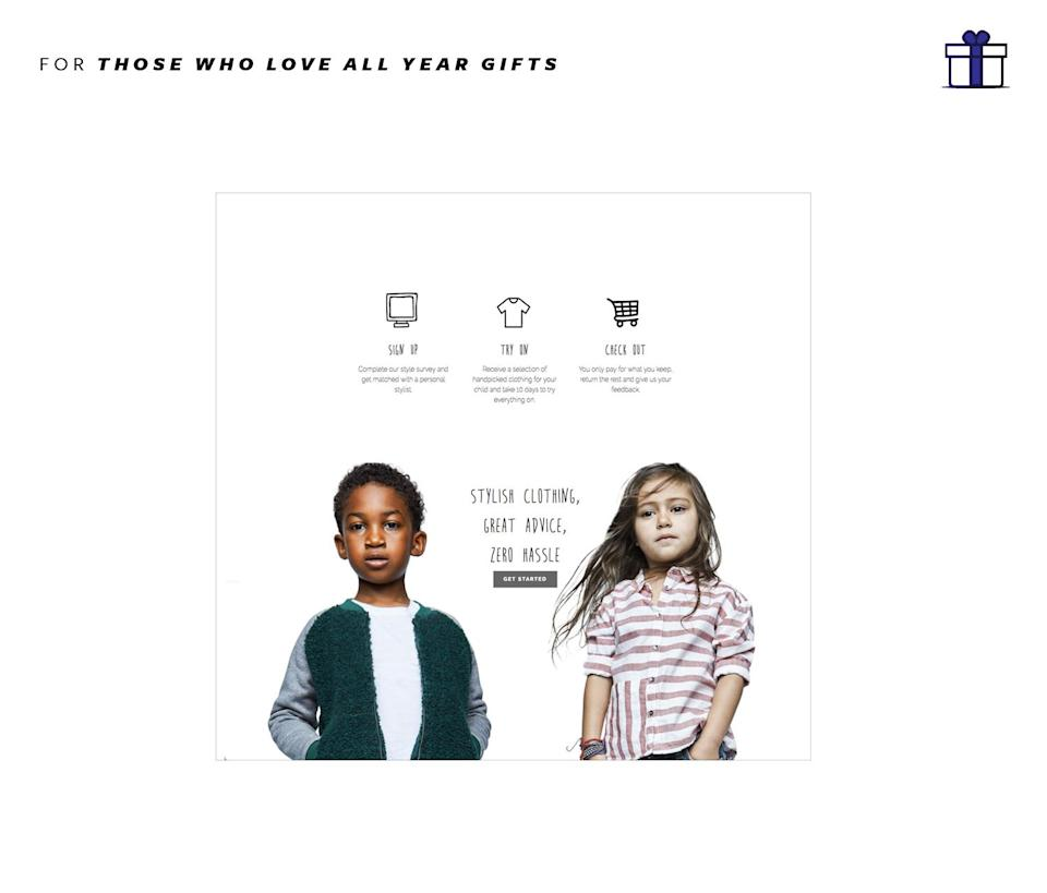 """<p>If you believe the children are our future… then lets make sure they look good and dress well at all times! The Collective Child is a site that helps busy parents with shopping for their little ones. Its free to join and the site sends a selection of pieces to you to try and you pay for what you keep or not. Shipping is free, the stress is low and the kid coolness factor is high! The Collective Child, free to join!, <a href=""""http://www.thecollectivechild.com/how-it-works"""" rel=""""nofollow noopener"""" target=""""_blank"""" data-ylk=""""slk:collectivechild.com"""" class=""""link rapid-noclick-resp"""">collectivechild.com</a> </p>"""