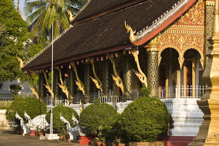 The Wat Ho Siang temple in Luang Prabang.