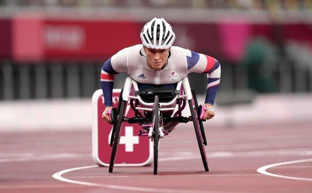 Great Britain's Samantha Kinghorn claimed two Paralympic medals in less than 24 hours