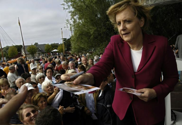 One early voter said Merkel 'gave the impression that she understood us' (AFP/Eric Feferberg)