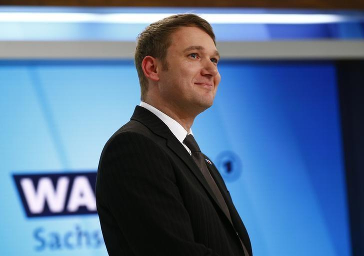 Andre Poggenburg of the AfD party. (REUTERS/Wolfgang Rattay)