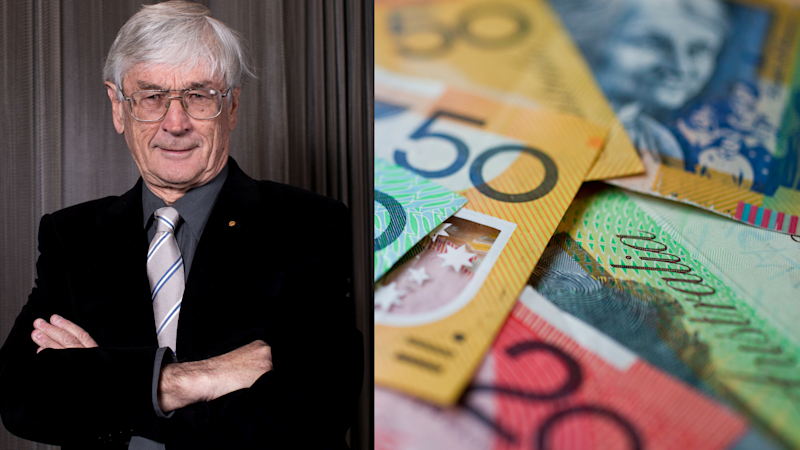 Pictured: Millionare Dick Smith, who admitted to receiving $500k in franking credits and Australian cash. Images: Getty