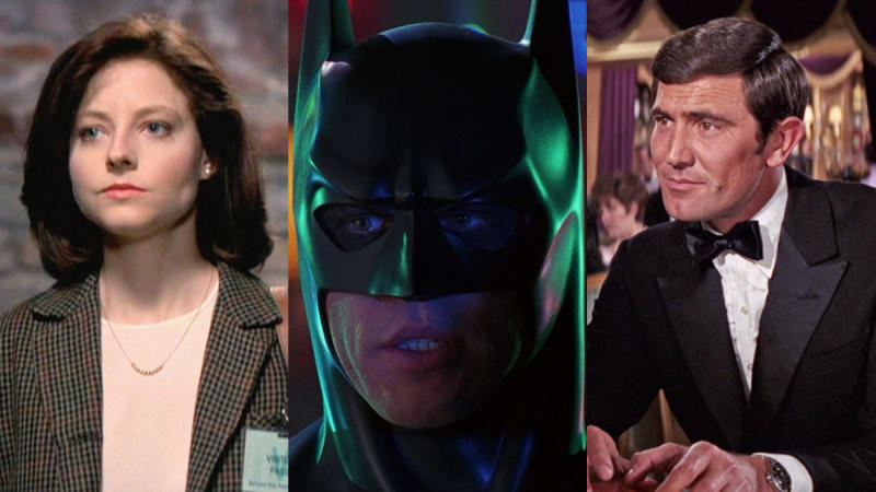 Jodie Foster, Val Kilmer and George Lazenby all stepped away from iconic roles. (Credit: Orion Pictures/Warner Bros/United Artists)