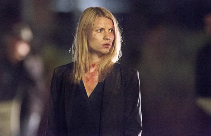 "Claire Danes as Carrie Mathison in the ""Homeland"" Season 2 episode, ""The Motherf----- with a Turban."""