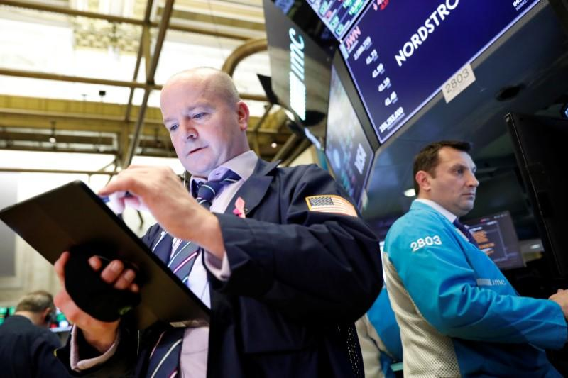 Wall Street Week Ahead: With market at record highs, eyes on reports from chipmakers