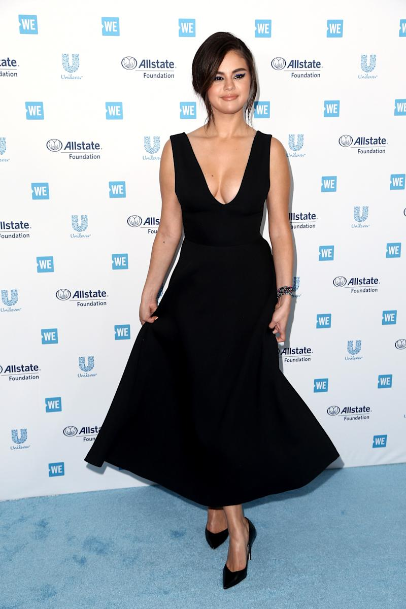 53348c8a5d4 Selena Gomez Steps Back Onto the Red Carpet for WE Day California