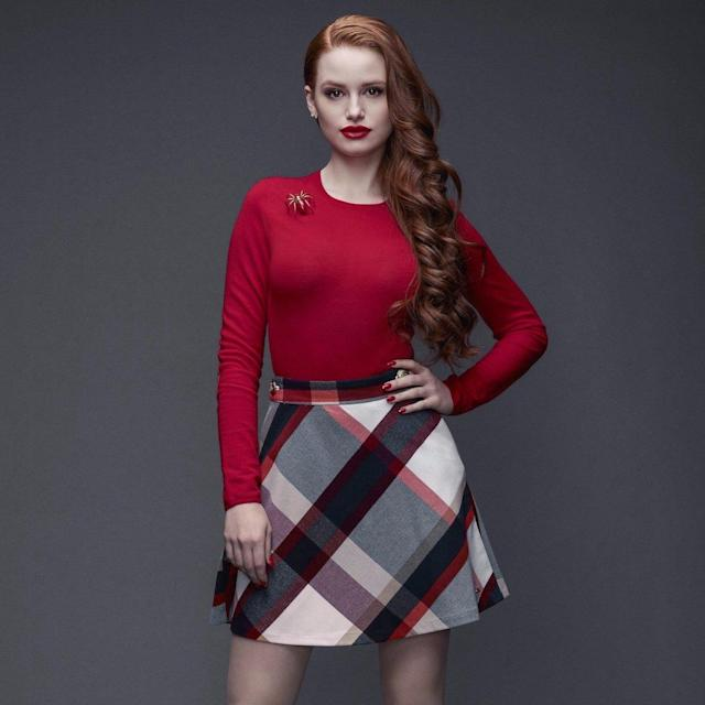 Read Cheryl Blossom's matte red lips for hidden messages. (Photo: The CW)
