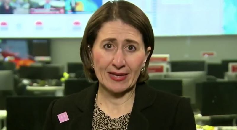 Gladys Berejiklian revealed an announcement on pubs and restaurants was imminent. Source: Today