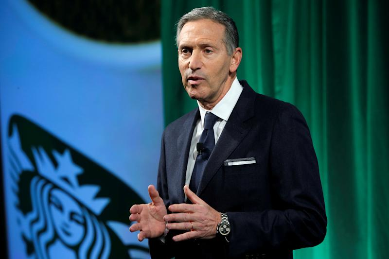 Howard Schultz Is High On Cryptocurrency, But Bitcoin? Not So Much