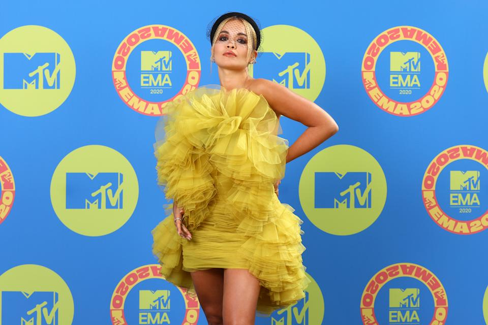 Rita Ora talked about her mum's diagnosis (Photo by Tim P. Whitby/Getty Images for MTV)