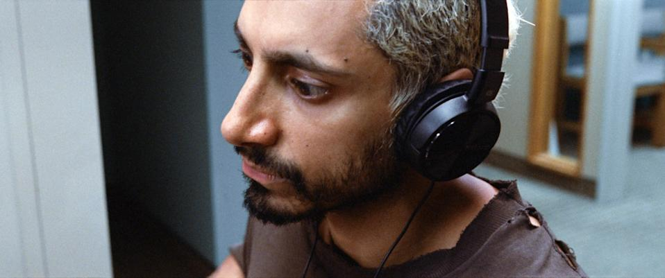 In Sound of Metal, Riz Ahmed plays Ruben Stone, a drummer who suddenly loses his hearing. (Photo: Everett Images)