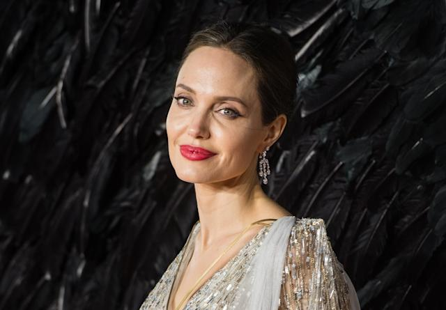 Angelina Jolie, at the London premiere of <em>Maleficent: Mistress of Evil</em> in October, has donated $1 million to the U.S. charity No Kid Hungry amid the coronavirus pandemic. (Photo: Samir Hussein/WireImage)