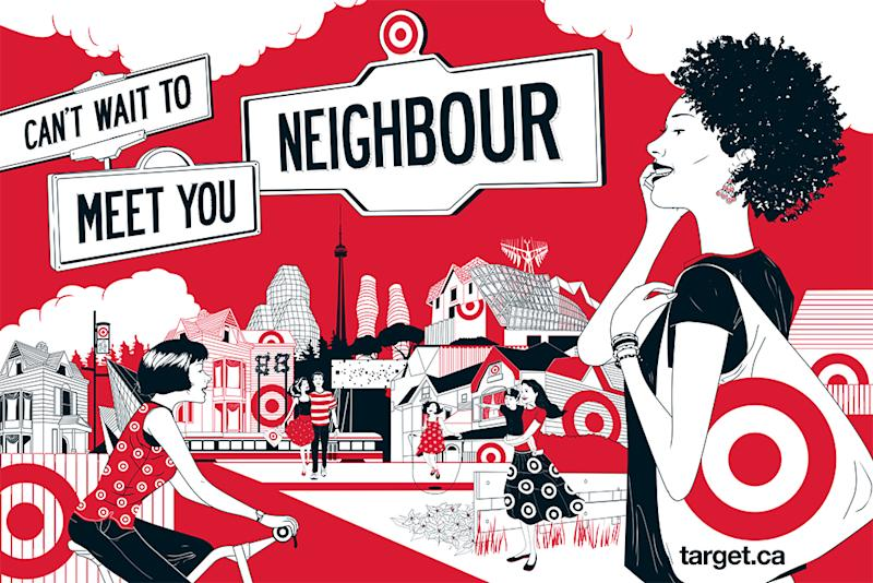 Target's Canada ads a 'neighbourly' campaign