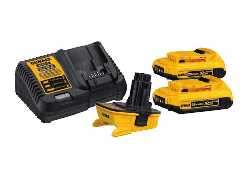 Keep your power tools working with these power packs and adapters. (Photo: Amazon)