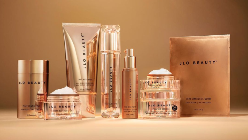 The entire JLo Beauty collection