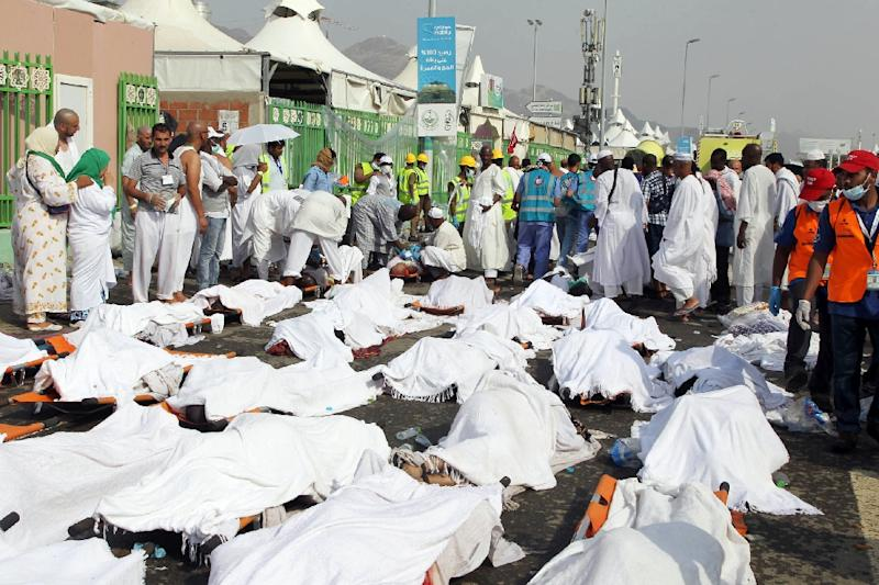 More than 2,300 people were killed in the 2015 hajj stampede, making it the deadliest disaster in the pilgrimage's history
