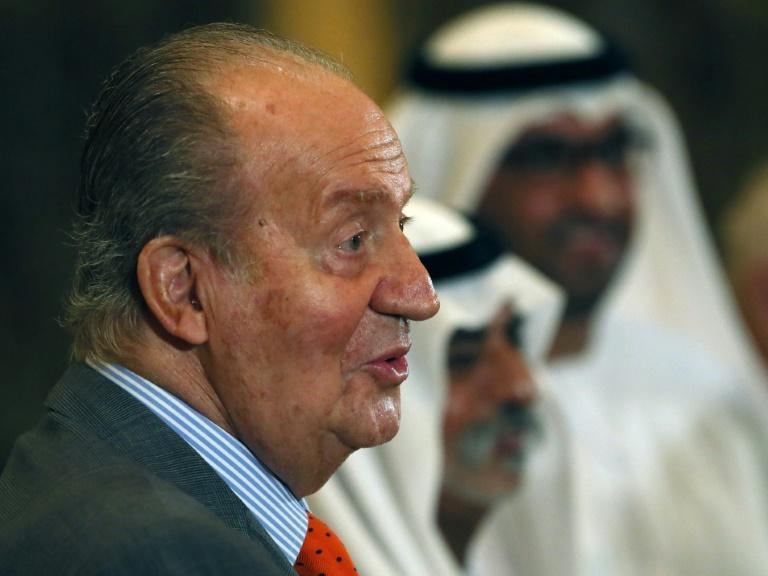 Spain ex-king under fire over move to UAE