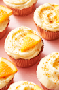"""<p>Saturdays don't really begin until the mimosas have been made and now they won't end until a mimosa cupcake has been eaten for dessert. These are great way to finish off an opened bottle of Champagne, if you ever have any leftover that is!</p><p>Get the <a href=""""https://www.delish.com/uk/cooking/recipes/a28784172/mimosa-cupcakes-recipe/"""" rel=""""nofollow noopener"""" target=""""_blank"""" data-ylk=""""slk:Mimosa Cupcakes"""" class=""""link rapid-noclick-resp"""">Mimosa Cupcakes</a> recipe. </p>"""