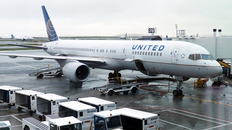 Flights resume at Newark after United plane skids off runway, no injuries
