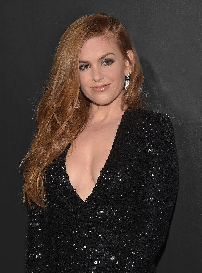 Isla Fisher is a proud ginger. (Photo by Jason Kempin/Getty Images for Focus Features)