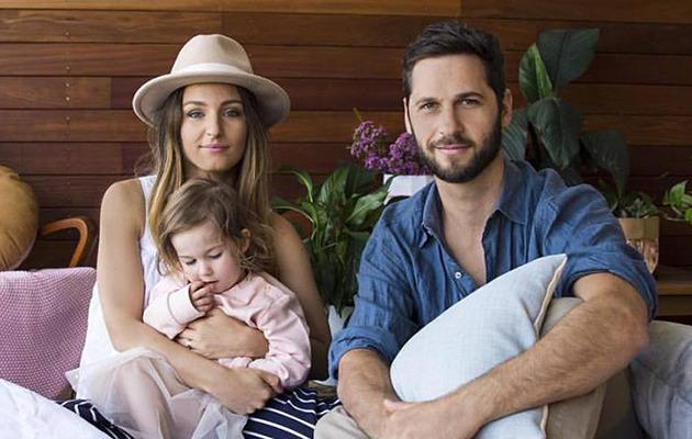 Dean and Shay Paine wit their adorable daughter. Photo: Facebook.