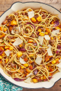 """<p>Say that five times fast.</p><p>Get the <a href=""""https://www.delish.com/uk/cooking/recipes/a31147395/butternut-squash-brown-butter-recipe/"""" rel=""""nofollow noopener"""" target=""""_blank"""" data-ylk=""""slk:Brown Butter Butternut Squash Pasta"""" class=""""link rapid-noclick-resp"""">Brown Butter Butternut Squash Pasta</a> recipe.</p>"""