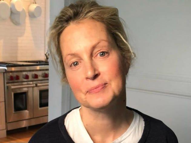 Ali Wentworth emerged from self-isolation.