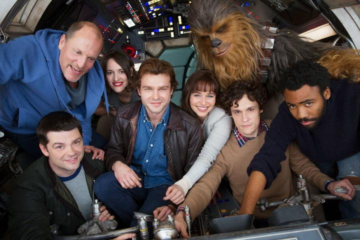rogue one new hope fan edit han solo movie cast