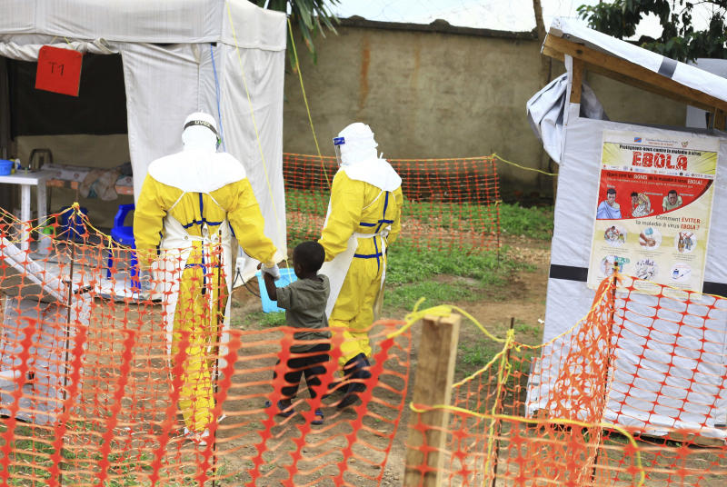 Democratic Republic of Congo's Ebola outbreak now second largest in history