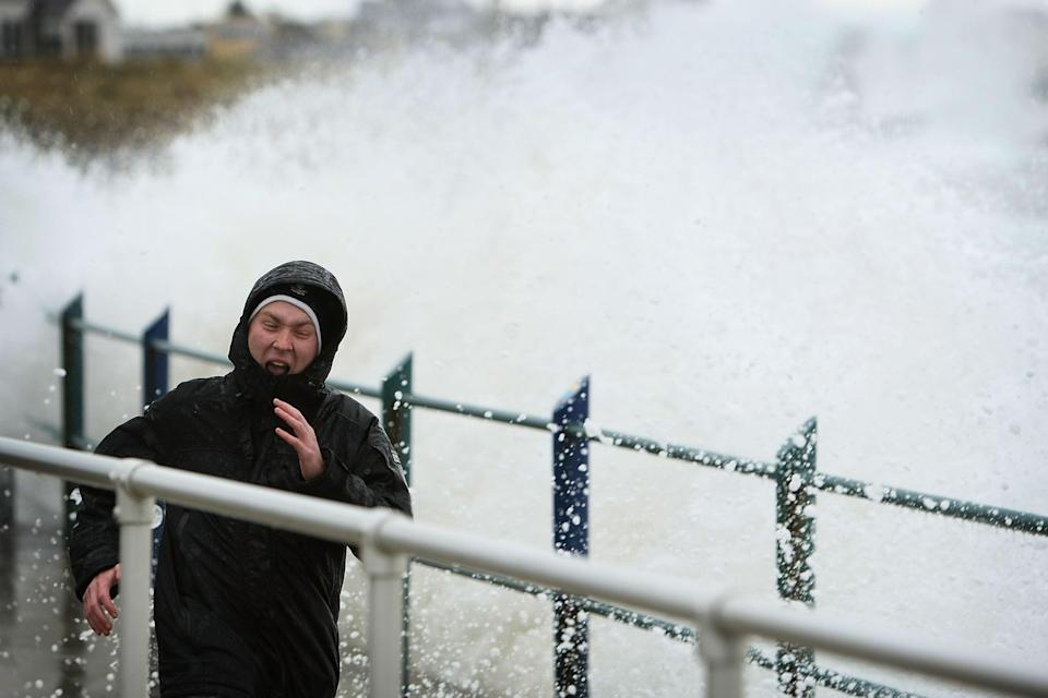 Parts of England will see well over half a month's rainfall on Friday (Christopher Furlong/Getty Images)