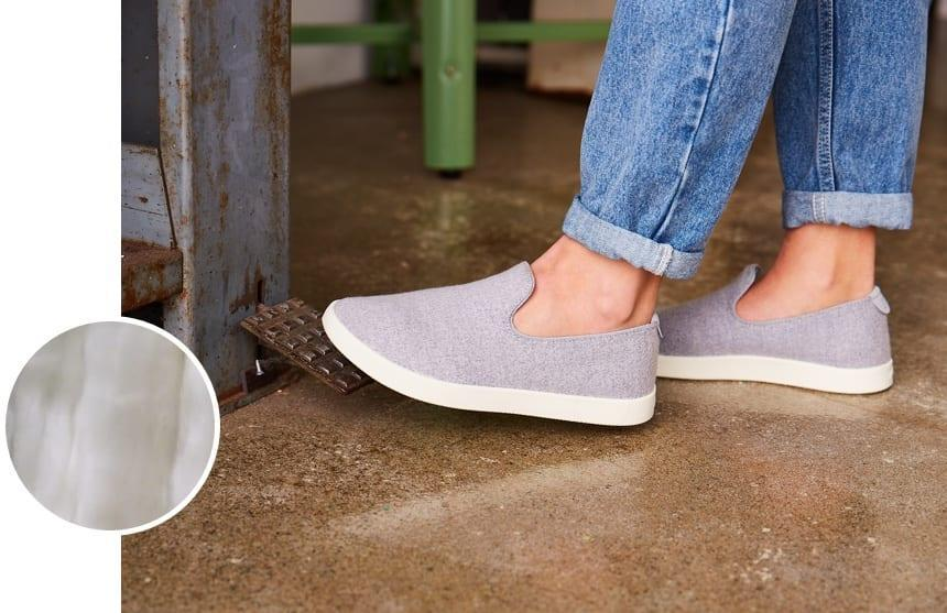 """<h2>Allbirds Wool Loungers </h2><br>Whether you're on an overnight flight or padding around a foreign hotel room, having a pair of plush but durable slipper-shoes to keep your in-transit feet safe and comfort is key.<br><br><em>Shop</em> <strong><em><a href=""""http://allbirds.com"""" rel=""""nofollow noopener"""" target=""""_blank"""" data-ylk=""""slk:Allbirds"""" class=""""link rapid-noclick-resp"""">Allbirds</a></em></strong><br><br><strong>Allbirds</strong> Women's Wool Loungers, $, available at <a href=""""https://go.skimresources.com/?id=30283X879131&url=https%3A%2F%2Fwww.allbirds.com%2Fproducts%2Fwomens-wool-loungers"""" rel=""""nofollow noopener"""" target=""""_blank"""" data-ylk=""""slk:Allbirds"""" class=""""link rapid-noclick-resp"""">Allbirds</a>"""