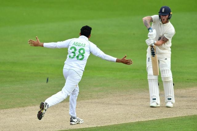 England v Pakistan – First Test – Day Two – Old Trafford