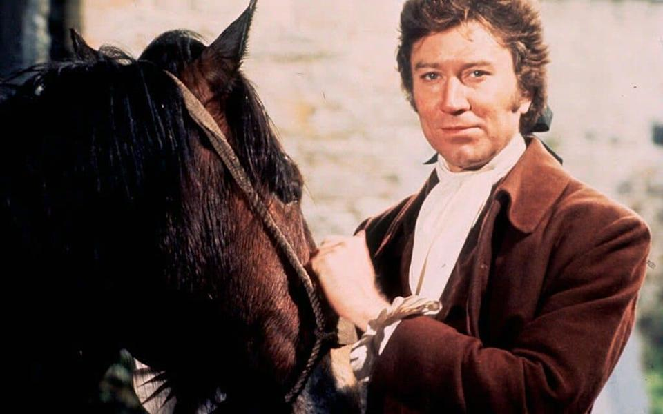 Robin Ellis starring in the classic BBC series Poldark, first screened in 1975. - PA