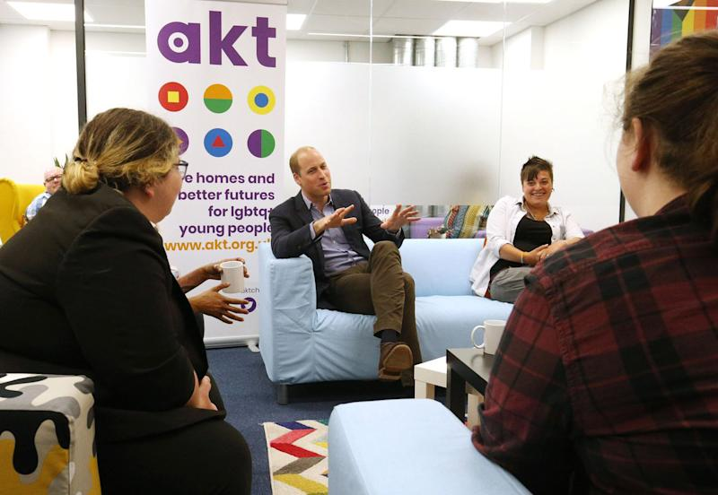 Prince William: 'I'd support my child if they were gay'