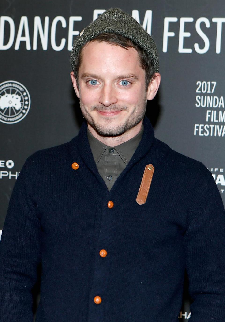 <p>The erstwhile Hobbit attends the premiere of 'I Don't Feel at Home in This World Anymore' on Jan 19. (Photo: Chad Hurst/Getty Images) </p>