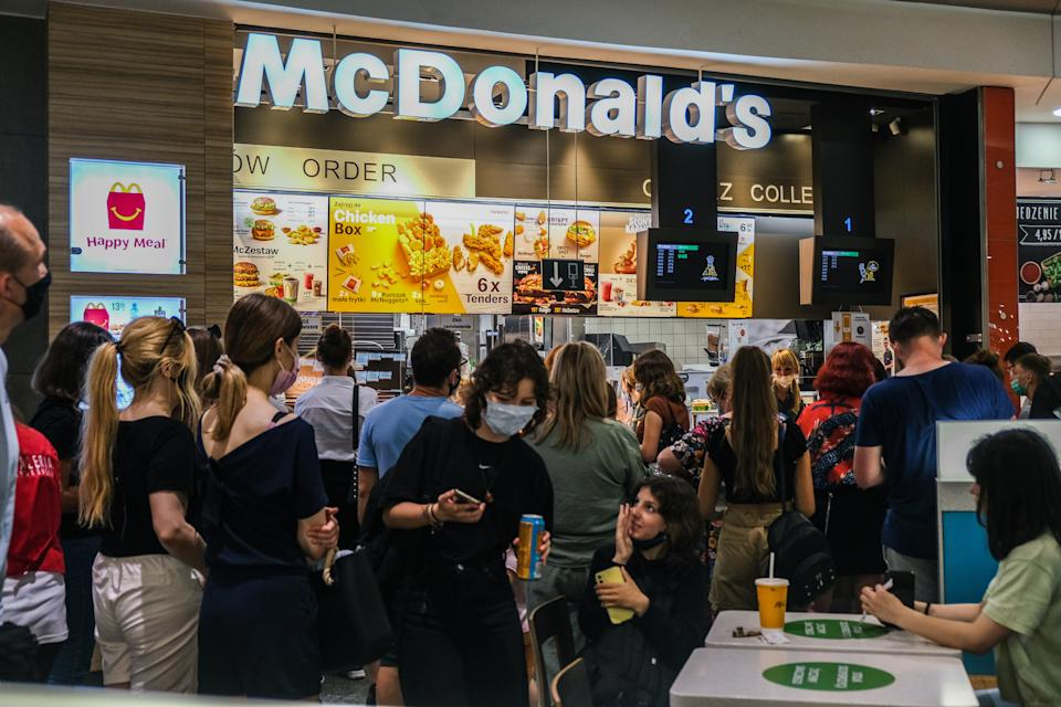 McDonald's (SOPA Images / Getty Images)