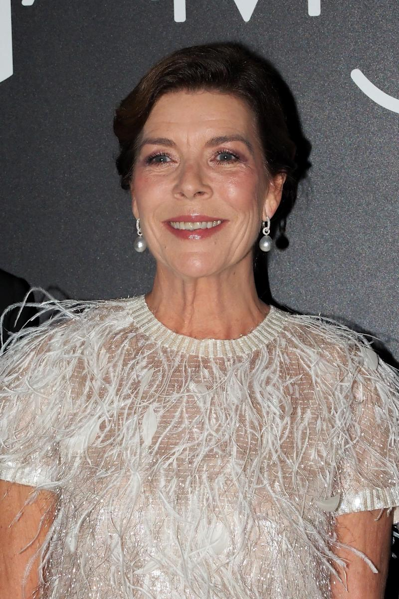 MONACO, MONACO - OCTOBER 05: Princess Caroline of Hanover attends the Secret Games Party at Monaco Casino on October 05, 2019 in Monaco, Monaco. (Photo by PLS Pool/Getty Images)