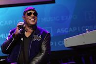 """<p>Stevie was born Stevland Hardaway Morris. """"Steveland"""" became """"Stevie"""" and """"Wonder"""" .... well, it just seems fitting after hearing him sing. </p>"""
