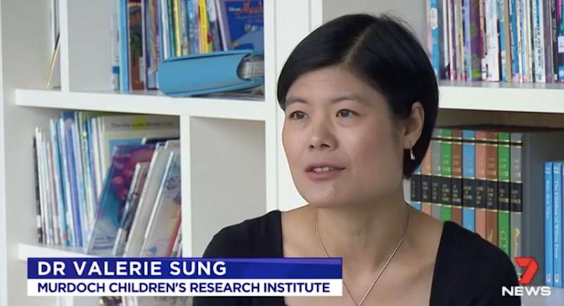 Melbourne researchers have found that a certain probiotic may help. Source: 7 News