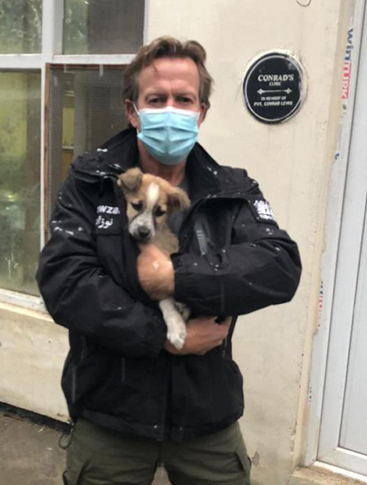Pen Farthing, founder of animal rescue charity Nowzad, managed to get scores of cats and dogs out of Afghanistan. (PA)